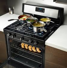 gas range. Stove Drawer - Whirlpool WFG505M0BS 30 Inch Freestanding Gas Range With
