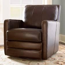Leather Rocker Recliner Swivel Chair