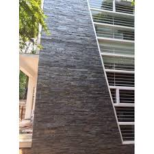 slate stone wall cladding thickness