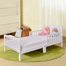 Baby boy room furniture Bed Ikea Baby Toddler Bed Kids Children Wood Bedroom Furniture W Safety Rails White Ebay Kids Bedroom Furniture Ebay