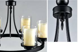 black wrought iron candle chandelier wrought iron candle chandeliers