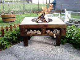 pallet patio furniture pinterest. Best Of Diy Table Fire Pit 25 Ideas On Pinterest Pallet Patio Furniture
