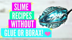 testing popular no glue no borax slime recipes how to make slime without glue or borax tested how to make make slime