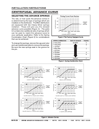 centrifugal advance curve msd 8350 ford 351c 460 ready to run pro centrifugal advance curve msd 8350 ford 351c 460 ready to run pro billet distributor installation user manual page 3 8
