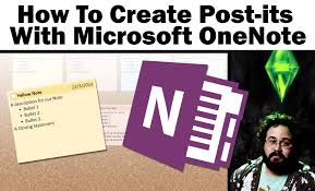 Watch Post It Notes How To Create Sticky Post It Notes With Onenote 2013 Youtube