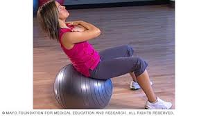Free Exercise Ball Chart Slide Show Core Strength Exercises With A Fitness Ball