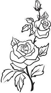 Small Picture Drawn red rose plant Pencil and in color drawn red rose plant