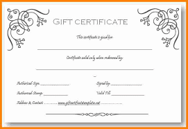 Microsoft Word Gift Certificate Templates 5 Free Gift Certificate Templates Microsoft Word Quick Askips