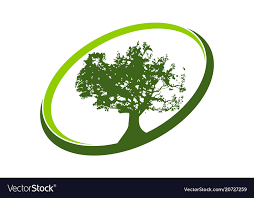 Template Tree Oak Tree Logo Design Template