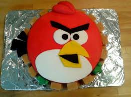 ta dah tuesday angry birds cake L qce6p