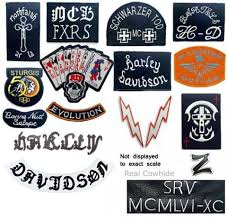 best harley davidson patches for bikers leather jacket