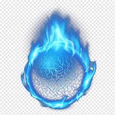 Blue fire illustration, Light Flame ...