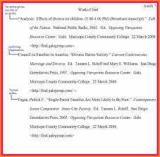 10 Mla Format For Work Cited Page Proposal Sample