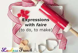French Verb Chart Faire Faire French Verb Conjugations Lawless French Verb Tables