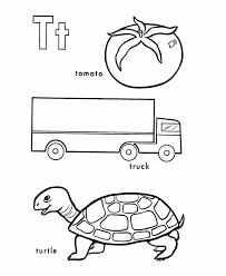 Letter T Coloring Pages Printable Get Coloring Pages