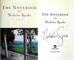 the notebook signed books