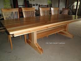 Mission Dining Tables Craftsman Arts And Crafts Stickley Style - Amish oak dining room furniture
