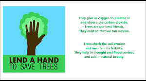 save plants essay save trees poem for kids