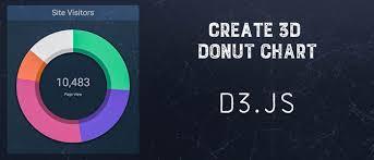 Create 3d Donut Chart Using D3 Js A Developer Diary