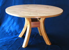 charming light brown round modern wooden diy round dining table stained ideas