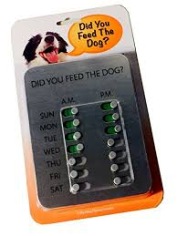 Did You Feed The Dog Chart Buy Dyftd Products Online In Qatar