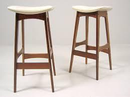 mid century modern scandinavian barstool closed sold it mid century modern bar stools o97