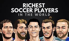 the 20 richest soccer players in the