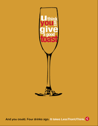 Drinking Drinks Health Less Posters Campaign Anti-binge Wine Public You Alcohol Think Than Glass