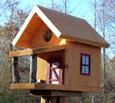 wooden bird houses en mini