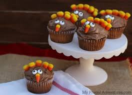 thanksgiving desserts turkey. Beautiful Turkey How To Make Turkey Cupcakes  So Cute And Easy Throughout Thanksgiving Desserts S