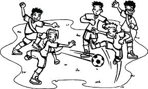 Soccer Coloring Pages Soccer Coloring Page Medium Size Of Soccer