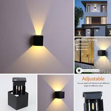 led outdoor porch lights outdoor wall
