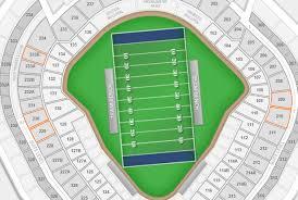 Yankee Stadium Seating Chart Pinstripe Bowl Yankee Stadium Football Seating Chart Interactive Map