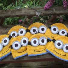 Minion Hat Crochet Pattern Simple Best Crochet Minion Products On Wanelo