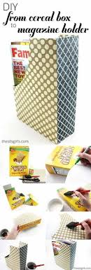 How To Make A Magazine Holder From Cardboard Gorgeous 32 Best DIY Magazine Holder Images On Pinterest Cartonnage