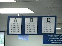 8 Dmv Vision Test For Class C Vehicles Nc Dmv Eye Chart