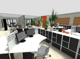 Interior design furniture Unique 3d Office Design Office Design Software Roomsketcher