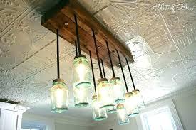 ball jar lighting. New Ball Jar Pendant Light Mason Chandelier For Sale Build It From Nest Of Diy Lighting