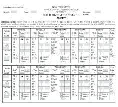 Printable Attendance Sheet Class Record Book Template