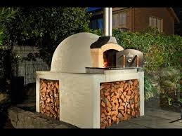 how to build our wood fired brick pizza oven kit
