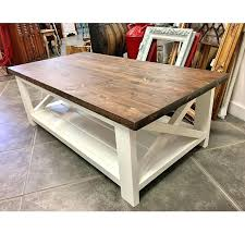 white table with wood top farmhouse white and wood top coffee table kitchen table white top white table with wood
