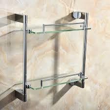 Kitchen Racks Stainless Steel Popular Glass Kitchen Shelves Buy Cheap Glass Kitchen Shelves Lots