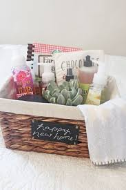 how to putting together a housewarming gift with inexpensive housewarming gifts for