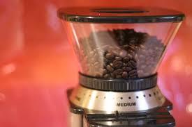coffee grinder is jammed
