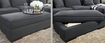 space saving storage furniture. Two Images Of The Same Ottoman With Storage Shown Closed A Serving  Tray On Top Space Saving Furniture R
