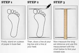 Shoe Heel Size Chart Shoe Sizeing Chart Feet Measurement