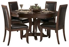 houzz homelegancela inc homelegance avalon 54 inch 54 inch round dining table with extension