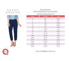 Susan Graver Regular Ultra Stretch Pull On Crop Pants Qvc Com