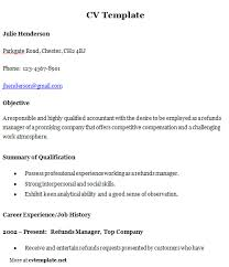 general cv template cv templates curriculum vitae template cv template