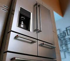 french door refrigerator in kitchen. 5-Door Configuration French Door Refrigerator In Kitchen F